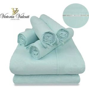 Sheet set, Victoria Valenti Collection, size KING